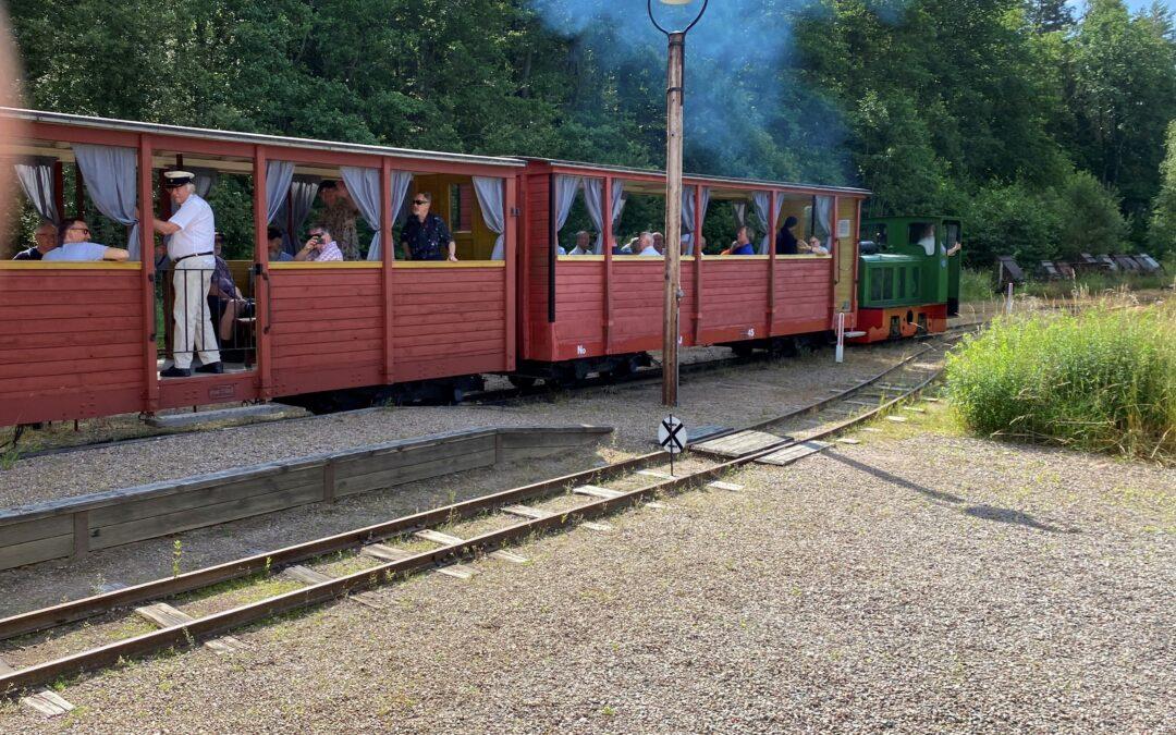 Första tågen denna sommar